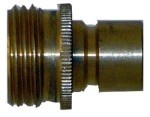 STANDARD SERIES / QVS Brass Male Quick Connect 3/4