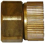 "STANDARD SERIES - QVS Brass Female Hose Adapter 3/4"" FHT x 3/4"" FPT"