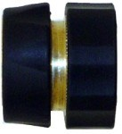 "PRO SERIES - QVS Brass Cushion Grip Quick Connect 3/4""FHT X Fem Con. / Female Valve -BOX QUANTITY ONLY (8/BX)"